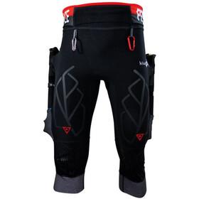KiWAMi Equilibrium Trail 3/4 Pants black/red